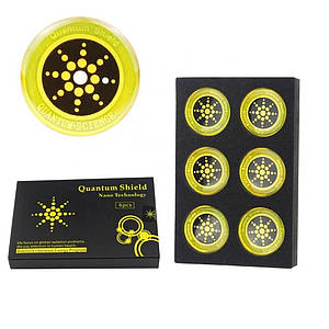 Антирадиационные наклейки на телефонпланшет Quantum Shield 179844