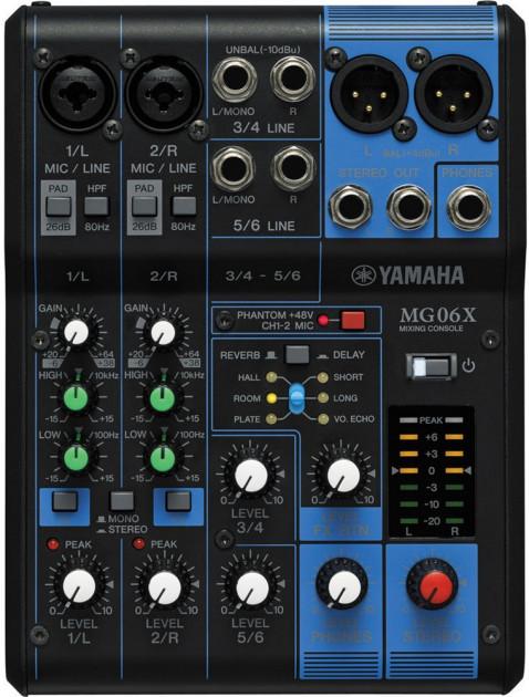 Аудиомикшер Mixer MG 07BT 179696