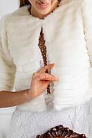 Шубка Памела смужка, фото 1