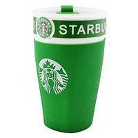 Керамический стакан Starbucks PY 023 Good Idea 350 мл Зеленый 183139