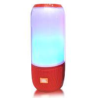 Беспроводная портативная Bluetooth колонка в стиле Jbl Pulse 3 mini красная 149053