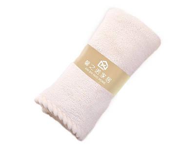 Банное махровое полотенце 70х140 см SH88006 белое 137956