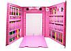 Набор для рисования с мольбертом 208 предметов Розовый 171667, фото 7