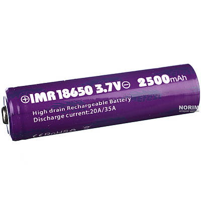 Батарейка Battery 18650 Pointed Efest 180293