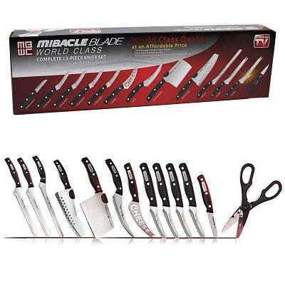 Набор профессиональных ножей 13шт Miracle Blade World Class 131739