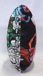 Подушка аніме 40х40 см із змінною наволочкой  Танджиро и Незуко, фото 4