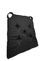 Подушка на стул Кедр на Ливане трапеция новая серия Classic Black 40*42*4