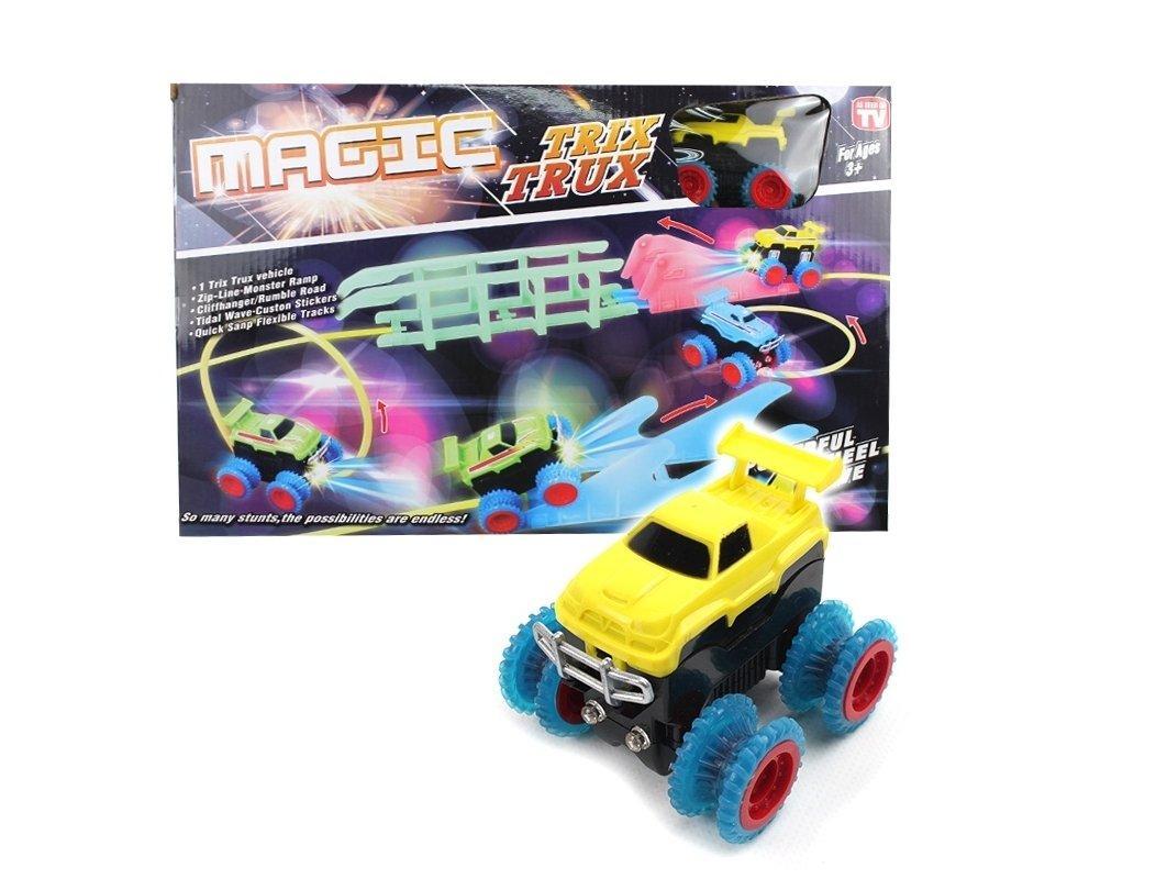 Канатный конструктор автотрек светящийся в темноте Magic Trix Trux 133925
