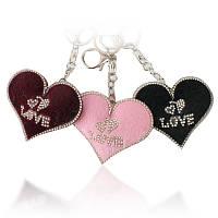 Брелок для рюкзака сумки Сердечко Love 129986