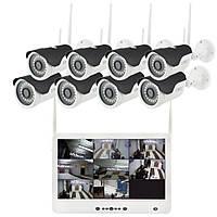 Регистратор и Камеры Dvr Kit Lcd 13 1308 WiFi 8ch набор на 8 камер 180945