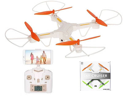 Квадрокоптер JieStar Dron Sky Cruiser X7-TW c WiFi камерой White белый 180962