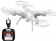 Квадрокоптер летающий дрон Drone 1 million Wifi Pro DM 93 с камерой Белый 175461