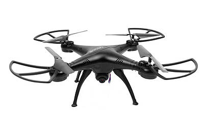 Квадрокоптер летающий дрон Drone 1 million Wifi Pro DM 93 с камерой Черный 183030