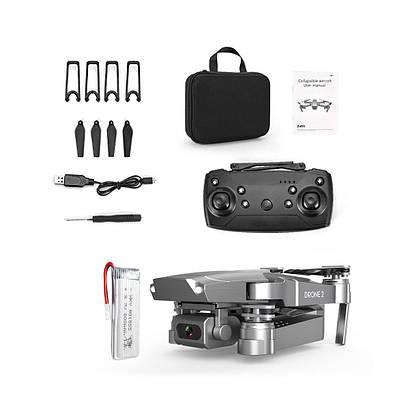 Квадрокоптер с видеокамерой складной E68 складной дрон с 720P 1080 4K черный 179726