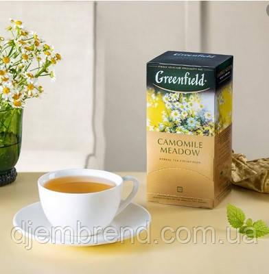 Чай Greenfield Camomille Meadow  - Травяной с Ромашкой, 25 шт