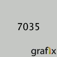 Полиэфирная краска,гладкая матовая,7035(20% глянцевости)