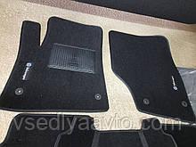 Ворсовые коврики передние для Volkswagen Touareg с (2002-2010)