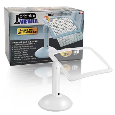 Настольная лупа с подсветкой увеличительный экран Brighter Viewer 149799