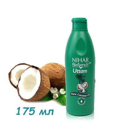 Натуральное кокосовое масло для волос и тела Nihar 175 мл 154077