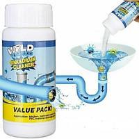 Чистящее средство для труб и раковин - мощный очиститель мойки и слива Wild Tornado Sink Drain Cleaner 154676
