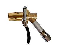 Газораздаточный пистолет Gaslin 4-х лапочный латунная обойма газовый кран LPG для пропана бутана АГЗС