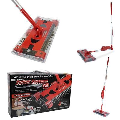 Электровеник швабра пылесос Swivel Sweeper G6 139061
