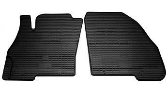 Коврики в салон резиновые передние для  Fiat Punto Evo 2009-2018 Stingray (2шт)