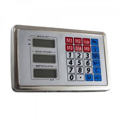 Электронное табло, голова для электронных торговых весов 300кг Acs G5 154696