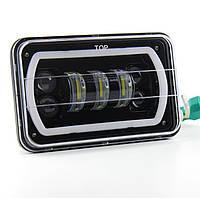 Фара прямокутна LED 4х6 дюйми, 47Вт, Jeep Chevrolet Ford GMC Toyota, 12 В, 47 Вт, AX-E4X6
