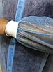 Халат одноразовый спанбонд на липучках с манжетом, фото 3