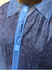 Халат одноразовый спанбонд на липучках с манжетом, фото 4