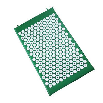 Коврик для акупунктурного массажа Acupressure Mat Зеленый 152875