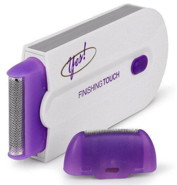 Эпилятор женский триммер для удаления волос на лице и теле Finishing Touch Yes 130784