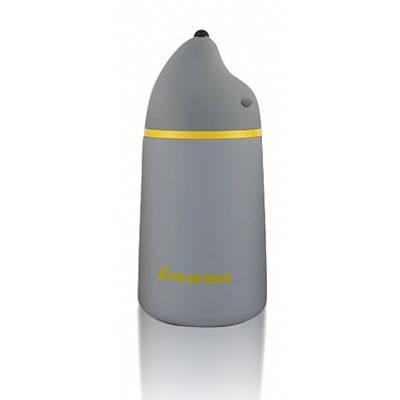Вакуумный термос с напылением защите Polar Bear серый 132029