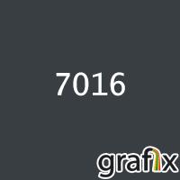 Порошковая краска глянцевая, полиэфирная, индустриальная, 160°С, 7016