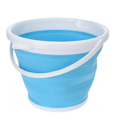 Ведро 5 литров туристическое складное Collapsible Bucket 150162