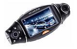 Автомобильный видеорегистратор R310 GPS 2 камеры, фото 7
