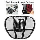 Ортопедическая спинка-подушка с массажером, фото 6