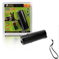 Отпугиватель собак ультразвуковой фонарь АД-100 AD-100 черный 149928, фото 1