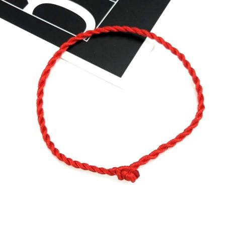 Браслет красная нить 40см-45см
