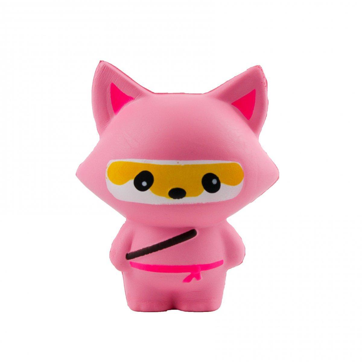 Сквиши игрушка антистресс Squishy Лиса нинзя большая 132236
