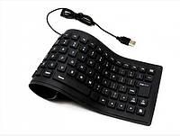 Гибкая силиконовая клавиатура Flexible Keyboard X3 179314