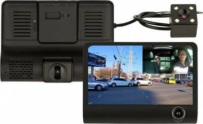 Видеорегистратор на три камеры Dvr SD319/z233D 180535