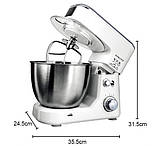 Кухонный комбайн тестомес миксер Sokany SC-209 800 Ватт, фото 2