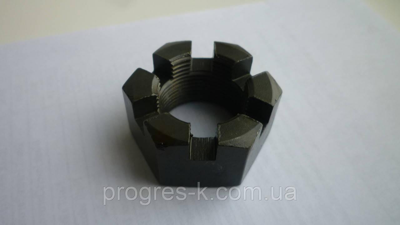 Гайка корончатая рулевого пальца МАЗ М18х1,5