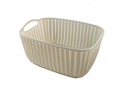 Корзинка для полотенец плетение 2 л Bathlux Rosa 70274 132658