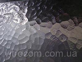 Скло візерункове Каре безбарвне з прирізкою в розмір