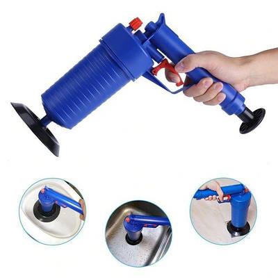 Очиститель канализации высокого давления Toilet Dredge Gun Blue 182580