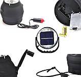 Кемпинговый динамо-фонарь + солнечная панель LS-360, фото 3