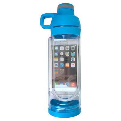 Спортивная бутылка Cup Bottle 5s с отсеком для мобильного телефона 170899